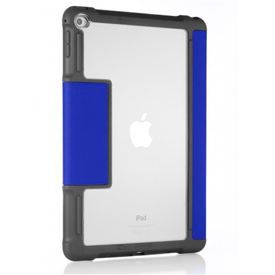 STM dux Tablet case - Blauw, Grijs, Transparant