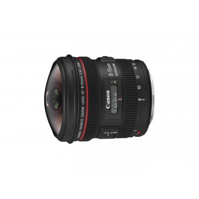 Canon camera lens: EF 8-15mm f/4L Fisheye USM - Zwart