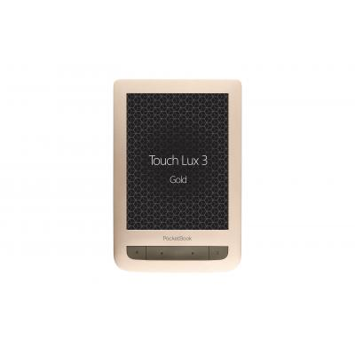 Pocketbook e-book reader: Touch Lux 3 - Goud