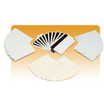 Zebra visitiekaart: Premier Plus PVC Composite Cards