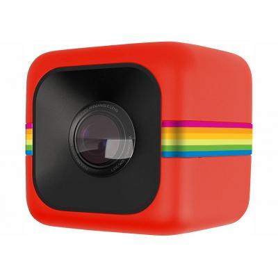 Polaroid actiesport camera: Cube - Rood