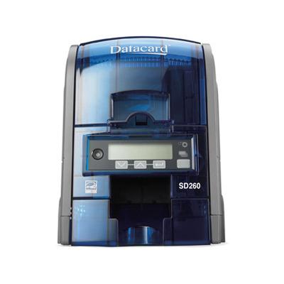 DataCard SD260 Plastic kaart printer - Zwart, Blauw