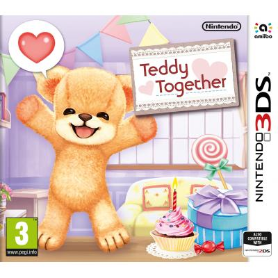 Nintendo game: Teddy Together  3DS