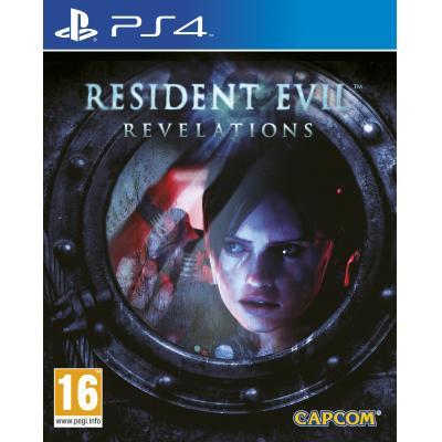 Capcom game: Resident Evil: Revelations  PS4