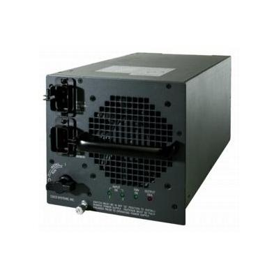 Cisco switchcompnent: Catalyst 6500 Series 6000W AC Power Supply - Zwart
