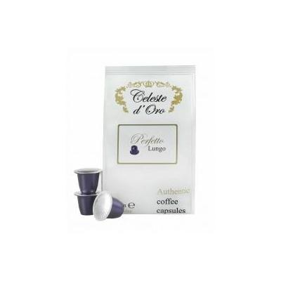 Celeste d'oro koffie: Perfetto (Lungo) voor Nespresso® machine 200 capsules