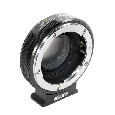 Metabones lens adapter: Nikon G to Micro Four Thirds Speed Booster XL 0.64x - Zwart