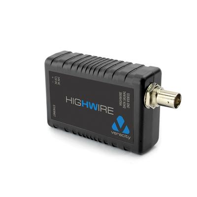 Veracity media converter: Highwire - Zwart