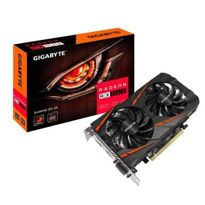 Gigabyte videokaart: Radeon RX 560 Gaming OC 4G (rev. 2.0) - Zwart