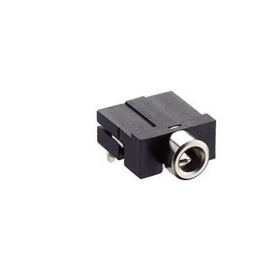 Lumberg LUM-KLBR4 Kabel connector - Zwart, Zilver