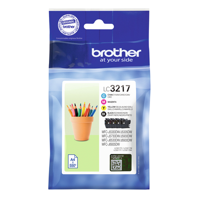 Brother LC-3217VAL inktcartridges