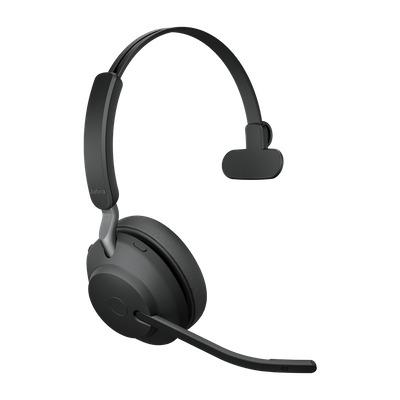 Jabra Evolve2 65, UC Mono, USB-C Headset - Zwart