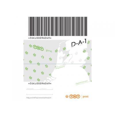 Postnl briefpapier: Zegel aangetekend NL brief tot 2kg/pak 5