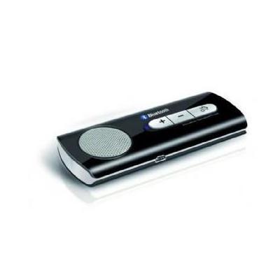 Gembird carkit: Bluetooth v2.1+ EDR, 2.4GHz ~ 2.48GHz - Zwart
