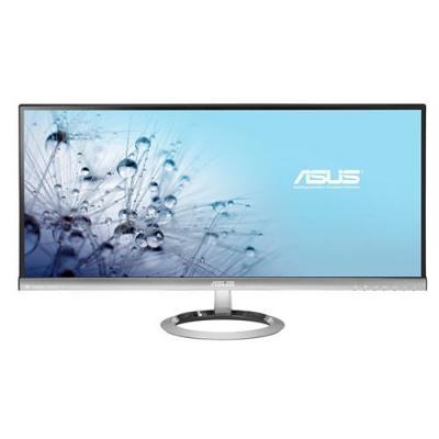 "Asus monitor: MX299Q - 29.0 cm (0"") , 21:9, 2560x1080, 300 cd/㎡, 80000000:1, 5ms - Zwart, Zilver"