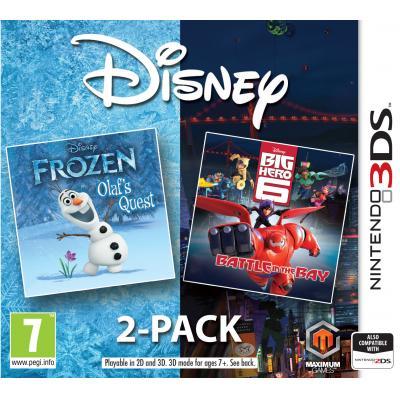 505 games game: Frozen / Big Hero 6 Double Pack  3DS