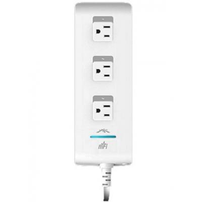 Ubiquiti networks power extrention: 3 Outlets, US, Wi-Fi, White - Wit