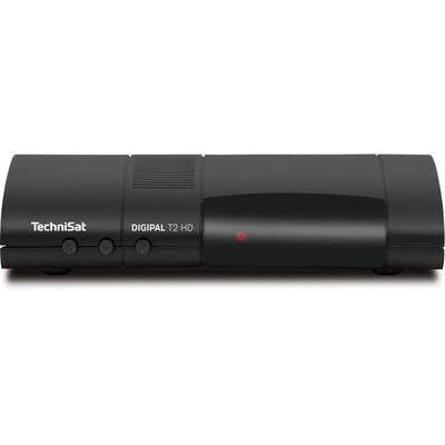 TechniSat DigiPal T2 HD Ontvanger - Zwart