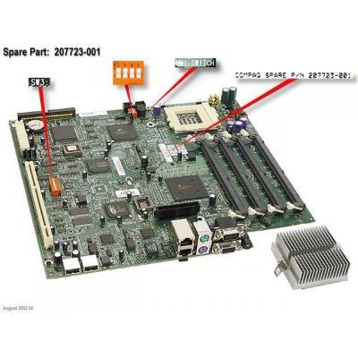 Hewlett Packard Enterprise 207723-001 Notebook reserve-onderdeel - Refurbished ZG