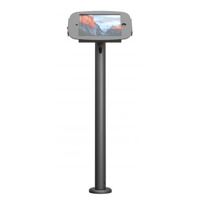 Maclocks : iPad Stand with Cable Management, 60 cm - Zwart