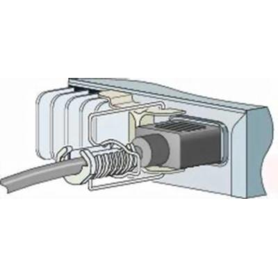 Cisco kabelklem: Power Retention Clip - Roestvrijstaal