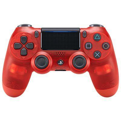 Sony game controller: DualShock 4 - Rood, Transparant