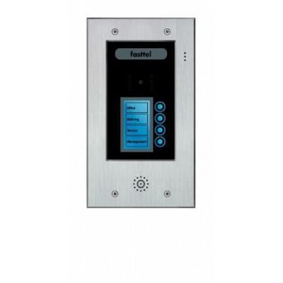 Fasttel deurbel: Wizard Elite FT2504VC - Zwart, Grijs