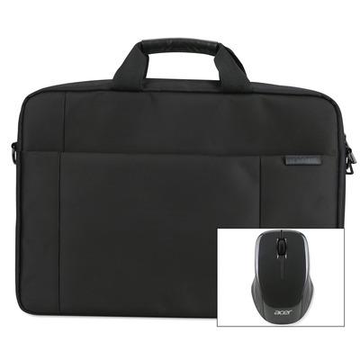 "Acer Options Pack 15.6"" Care Promise A laptoptas - Zwart"