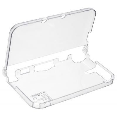Bigben interactive portable game console case: Transparant polycarbonate Nintendo 3DS XL hoesje