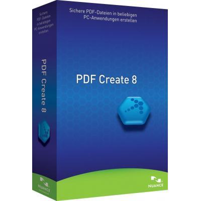 Nuance desktop publishing: PDF Create! 8