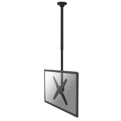 """Newstar flat panel plafond steun: TV/Monitor Ceiling Mount for 32""""-55"""" Screen, Height Adjustable - Black - Zwart"""