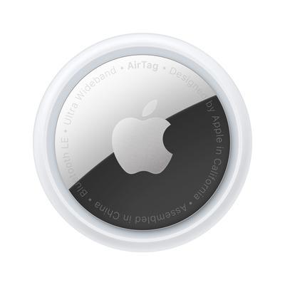 Apple AirTag Silver/White (1 stuk) - Zilver, Wit