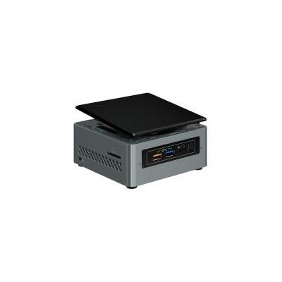 Intel barebone: Boxed NUC Kit, NUC6CAYH, Single Pack - Zwart, Grijs