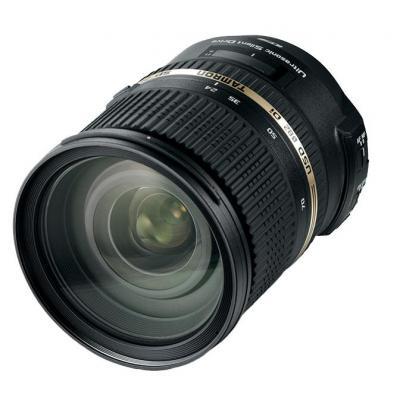 Tamron camera lens: SP 24-70mm F/2.8 Di VC USD
