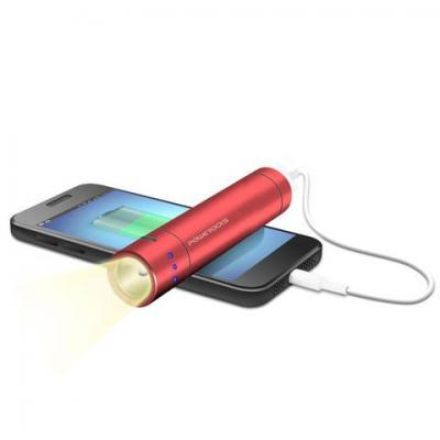 Powerocks powerbank: Flash Magicstick 3000 - Rood