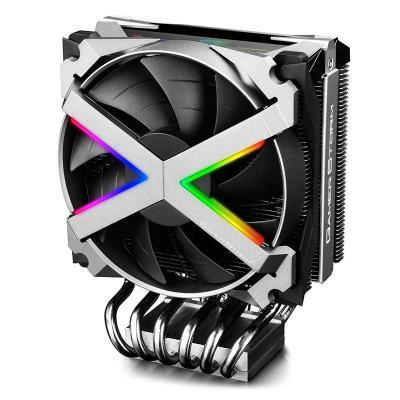 DeepCool 500 - 1800 RPM, 64CFM, 17.8~41.5dB(A), 7V, 1187g, silver/black Hardware koeling - Zwart, Zilver