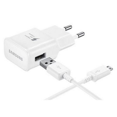 Samsung oplader: USB-C Charger 100-240V 2A - Wit