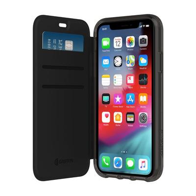 Griffin Survivor Clear Wallet Mobile phone case - Zwart, Transparant