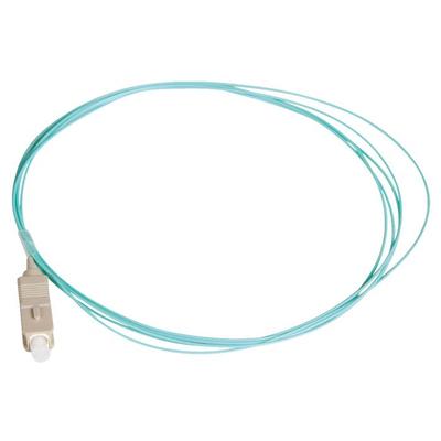 Lanview SC/UPC, OM3, 50 / 125 µm, PVC, Aqua, 2 m Fiber optic kabel - Aqua-kleur