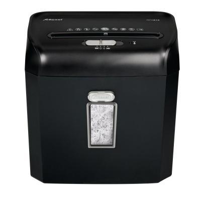 Rexel papierversnipperaar: Promax RPX612 - Zwart