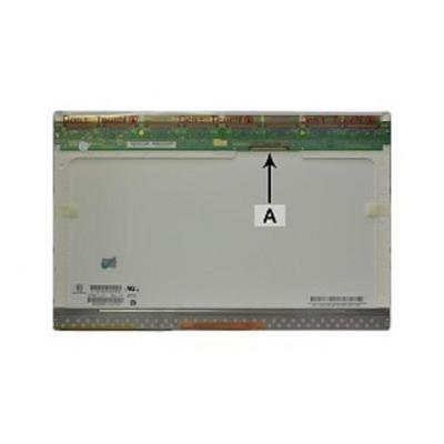 "2-power notebook reserve-onderdeel: 39.116 cm (15.4 "") WSXGA+ 1680x1050 CCFL1 Glossy - Wit"