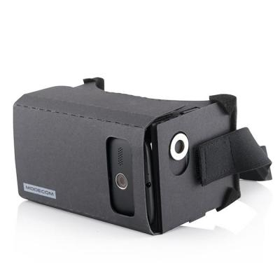 Modecom virtual reality bril: FreeHANDS MC-G3DC - Zwart