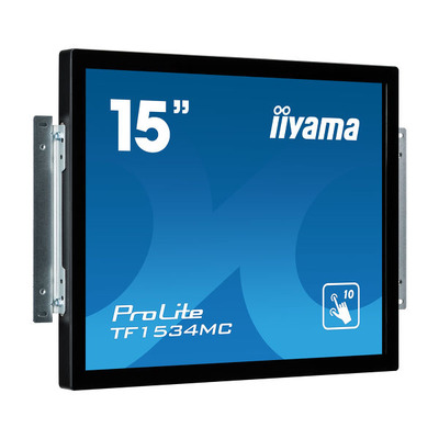 Iiyama ProLite TF1534MC-B5X Touchscreen monitor - Zwart