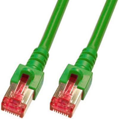 EFB Elektronik 0.5m Cat6 S/FTP Netwerkkabel - Groen