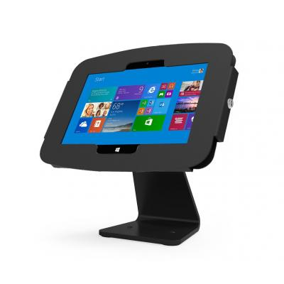 Maclocks : Space Surface Tablet Enclosure 360 All In One Kiosk, Black - Zwart