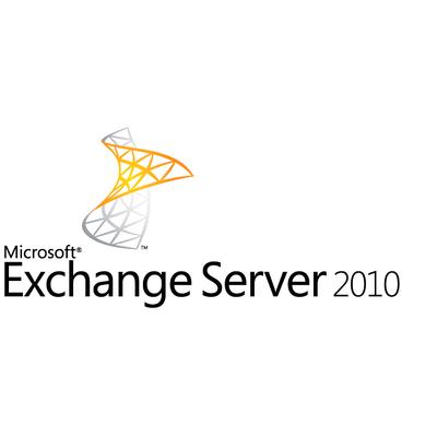 Microsoft Exchange Server 2010, Standard, EDU, 5 USR CAL, EN Software