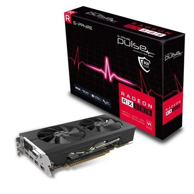 Sapphire videokaart: RADEON RX 580 8GB GDDR5 PULSE