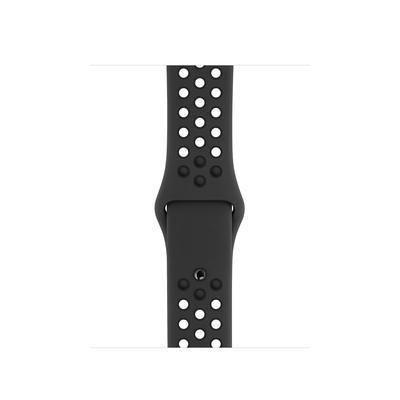 Apple Sportbandje van Nike - Antraciet/zwart (40 mm) - S/M en M/L - Antraciet,Zwart