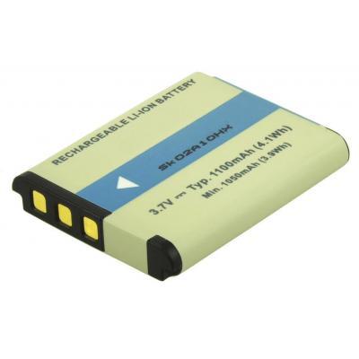 2-power batterij: Replacement Battery JVC BN-VG212 - Multi kleuren