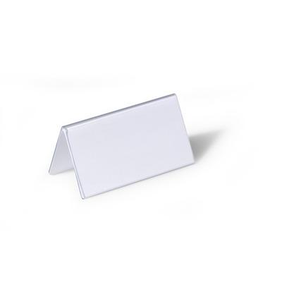 Durable Tafelnaambordjes van Hardfolie, Transparant naambadge